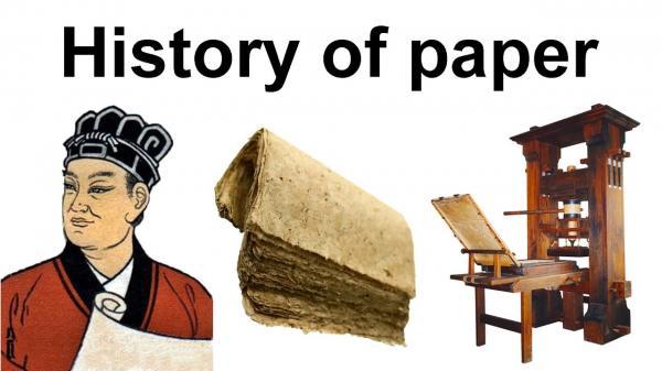 اختراع کاغذ در ایران و جهان